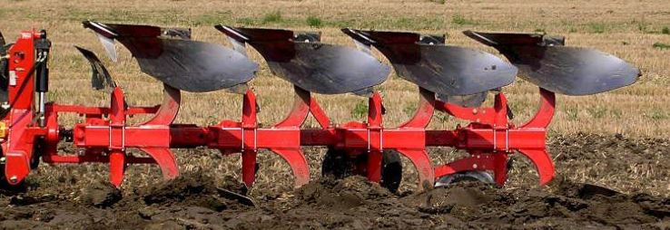 Gregoire Besson R4 Plough, Plow, Reversible, Mounted