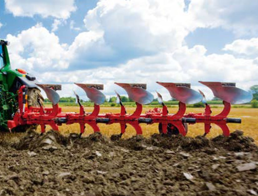 Gregoire Besson r47 Plough, Plow, Reversible, Mounted